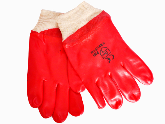 Glove-PVC-Knit-Wrist